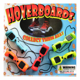 """Hover Boards  2"""" Toy Capsules 250 pcs"""