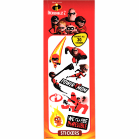 Incredibles 2 Stickers 300pcs
