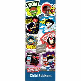 Justice League Chibi Stickers 300pcs