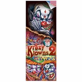 Krazy Klowns 2 Tattoos 300pcs