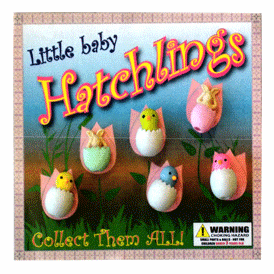 """Little baby hatchlings 2"""" Toy Capsules 250 pcs"""