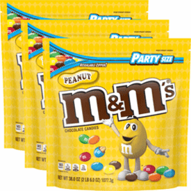 M&M's Peanut 3 Pack 126oz