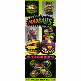 Madballs Stickers 300pcs