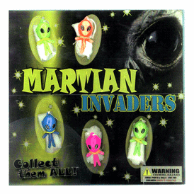 """Martian Invaders 2"""" Toy Capsules 250 pcs"""
