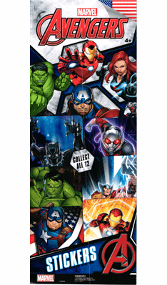 Marvel Avengers  Stickers 300pcs
