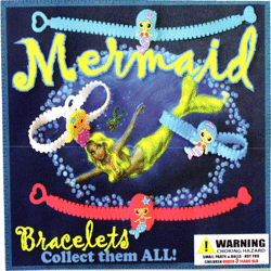 "Mermaid Bracelets 2"" Toy Capsules 250 pcs"