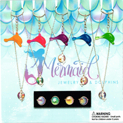 "Mermaid Jewelry 2"" Toy Capsules 250 pcs"