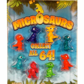 "Micro Dinosaurs 1"" Toy Capsules 250pcs"