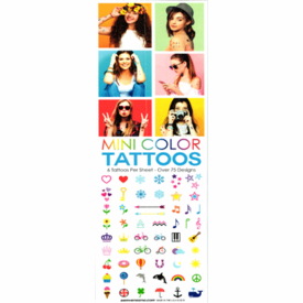 Mini Color Tattoos 300pcs