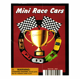 "Mini Race Cars 1"" Toy Capsules 250pcs"