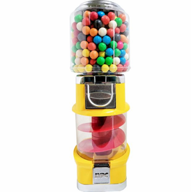 Mini Spiral Spin & Whirl Gumball Machine 23 inches Tall