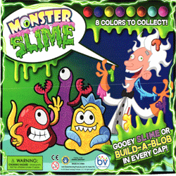 "Monster Slime 2"" Toy Capsules 250 pcs"