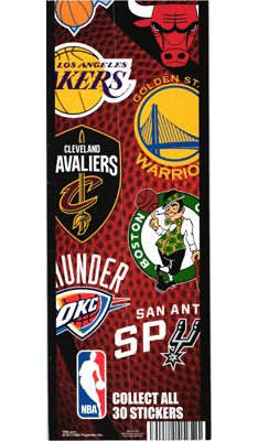 NBA Logo Stickers 300pcs