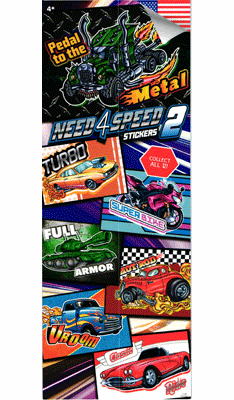 Need for Speed #2  Stickers 300pcs