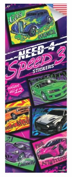 Need for Speed #3  Stickers 300pcs