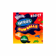 Nerds Gumballs 850 count
