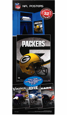 NFL 6X9 Team  Posters 300pcs