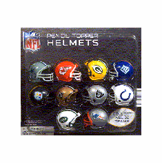 "NFL Pencil Toppers Helmets  2"" Toy Capsules 250 pcs"
