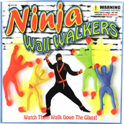 "Ninja Wall Walkers 2"" Toy Capsules 250 pcs"