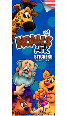 Noahs Ark Stickers 300pcs