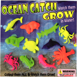 "Ocean Catch Grow in The Water Creatures 2"" Toy Capsules 250 pcs"