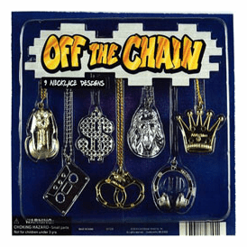 """Off The Chain Necklaces 2"""" Toy Capsules 250 pcs"""