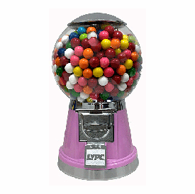 Pretty In Pink Bubble Gumball Machine