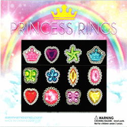 "Princess Rings 2"" Toy Capsules 250 pcs"