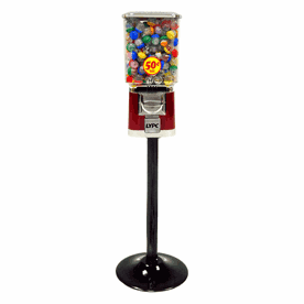 """Pro Line 50c - 1"""" Toy Capsule Machine With Stand"""