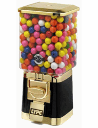 Pro Line Gold Gumball Candy Machine