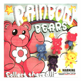 "Rainbow Bears 2"" Toy Capsules 250 pcs"