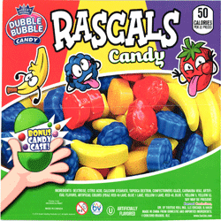 "Rascals Candy in 2"" Capsules  250 pcs"
