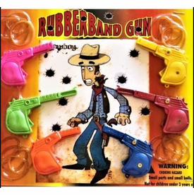 """Rubber Band Guns - Target Practice 2"""" Toy Capsules 250 pcs"""