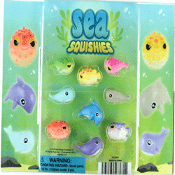 "Sea Squishies 2"" Toy Capsules 250 pcs"