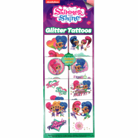 Shimmer & Shine Glitter Tattoos 300pcs