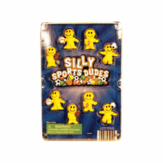"Silly Sports Dudes 1"" Toy Capsules 250pcs"