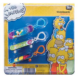 """Simpsons Back Pack Skate Board 2"""" Toy Capsules 250 pcs"""
