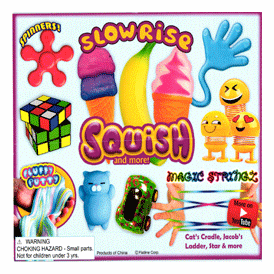 "Slow Rise Squish & More Toy Mix 2"" Toy Capsules 250 pcs"