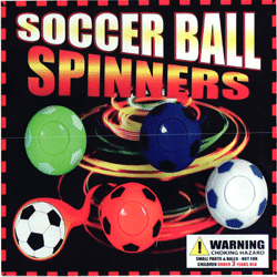 "Soccer Ball Spinners Self Vend 2"" Toys 250 pcs"