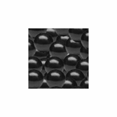 "Solid 1"" Black Gumballs 850ct"