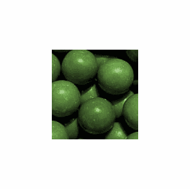 "Solid Green 1"" Gumballs 850ct"