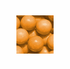 "Solid Orange 1"" Gumballs 850ct"
