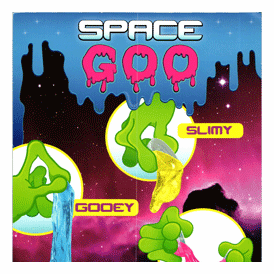 "Space Goo Slimy Stretchy 2"" Toy Capsules 200 pcs"