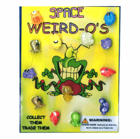 """Space Weird-O's 1"""" Toy Capsules 250pcs"""