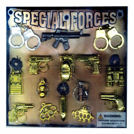 "Special Forces 2"" Toy Capsules 250 pcs"