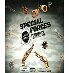 "Special Forces Trinkets 1"" Toy Capsules 250pcs"