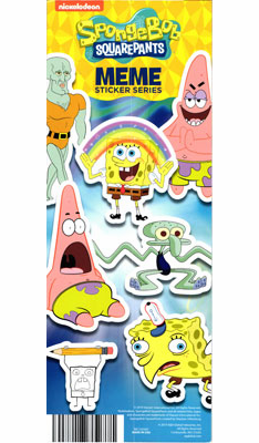 SpongeBob Squarepants  MEME Stickers 300pcs