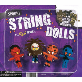 """Spooky String Dolls 2"""" Toy Capsules 250 pcs"""
