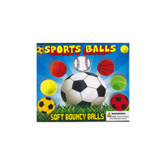 "Sports Balls 2"" Self  Vend 250 pcs"