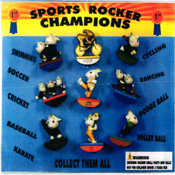 "Sports Rocker Champions 2"" Toy Capsules 250 pcs"